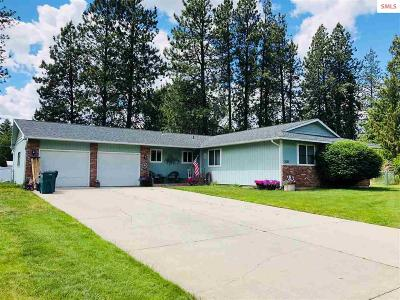 Coeur D'alene Single Family Home For Sale: 3623 W Hillcrest Circle