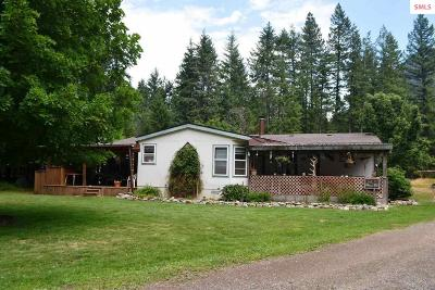 Clark Fork ID Single Family Home For Sale: $243,000