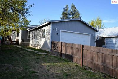 Priest River Single Family Home For Sale: 147 E Lincoln