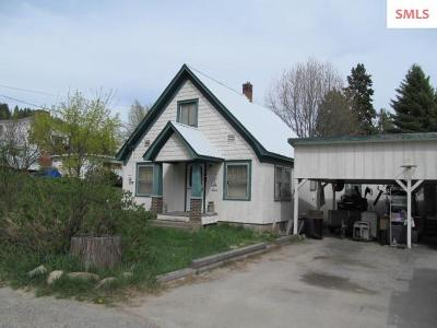 Bonners Ferry Single Family Home For Sale: 7481 Mohawk