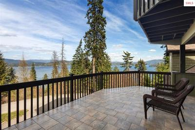 Coeur D'alene Single Family Home For Sale: 3677 S Capeview Ct