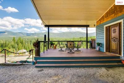 Sandpoint Single Family Home For Sale: 800 Moose Run