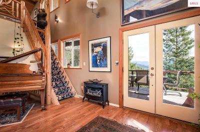 Sandpoint Single Family Home For Sale: 700 Caribou Creek Road