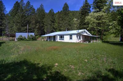 Rathdrum Single Family Home For Sale: 25403 N Fjord Rd.
