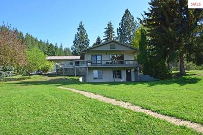 Bonners Ferry Single Family Home For Sale: 6856 Oak St