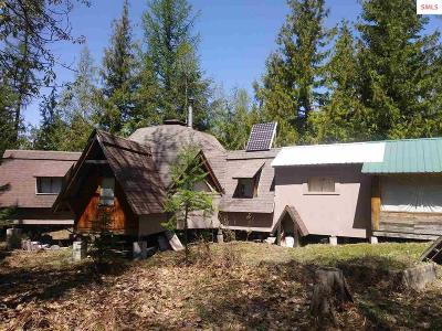 Sandpoint Single Family Home For Sale: 762 High Road
