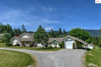 Sandpoint Single Family Home For Sale: 10660 W Pine St