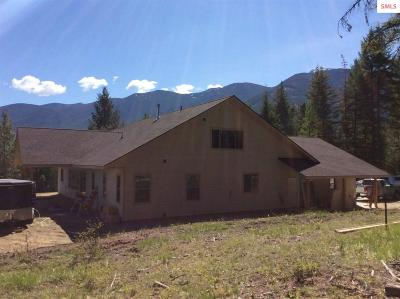 Bonners Ferry Single Family Home For Sale: Lot 1 Pinnacle Circle