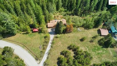 Sandpoint Single Family Home For Sale: 164 Meadowlark Ln.