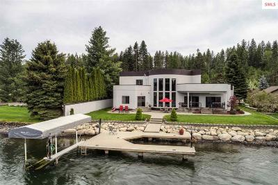 Coeur D'alene Single Family Home For Sale: 440 S Hidden Island Lane