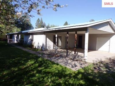 Bonners Ferry Single Family Home For Sale: 5878 Main St.