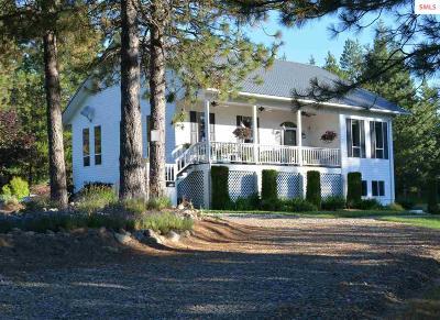 Cocolalla Single Family Home For Sale: 626 Morgan Hill Road