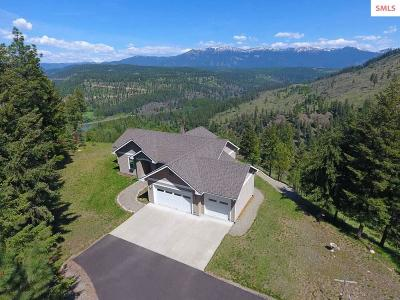 Moyie Springs Single Family Home For Sale: 807 E Mountain View Rd