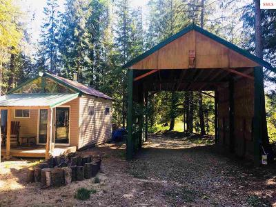 Sandpoint ID Single Family Home For Sale: $89,900