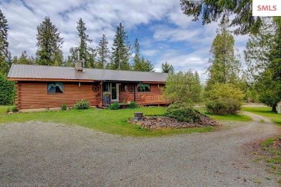 Priest River Single Family Home Contingent W/Bump Clause: 1840 Old Priest River Rd