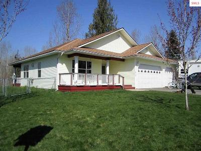 Kootenai Single Family Home For Sale: 503 Humbird St