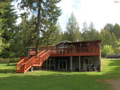 Clark Fork Single Family Home For Sale: 540 Lighting Creek Road
