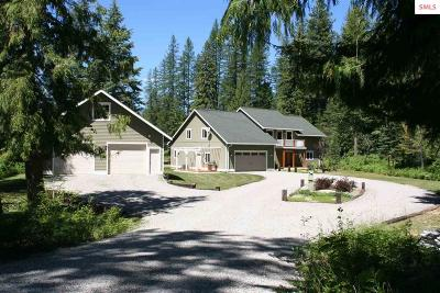 Sandpoint Single Family Home For Sale: 302 Milk Creek