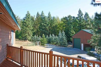 Sandpoint Single Family Home For Sale: 12488 Baldy Mountain Road