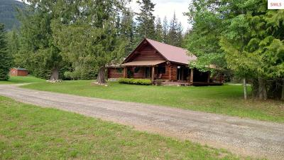 Clark Fork ID Single Family Home For Sale: $349,900