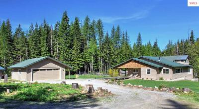 Sandpoint Single Family Home For Sale: 2423 Flume Creek Rd
