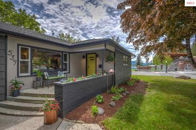 Sandpoint Single Family Home For Sale: 539 S Florence Av