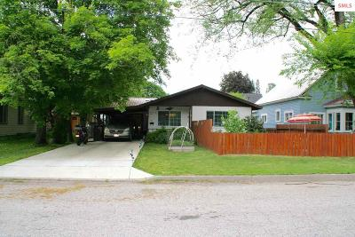 Sandpoint Single Family Home For Sale: 906 Alder Street
