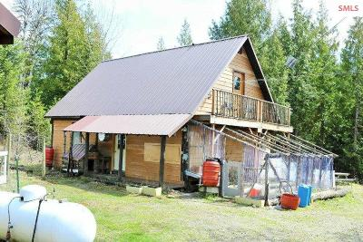 Cocolalla Single Family Home For Sale: 804 Usfs Road 630