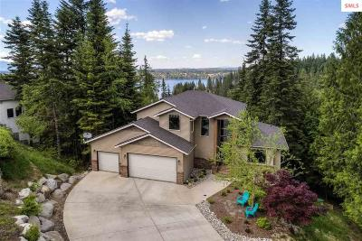 Coeur D'alene Single Family Home For Sale: 3983 E Lookout Dr
