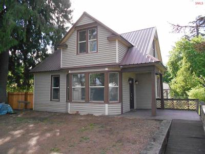 Clark Fork Single Family Home For Sale: 201 Fifth Street