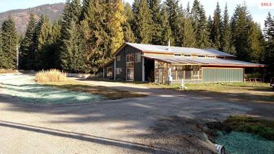 Clark Fork ID Single Family Home For Sale: $399,000