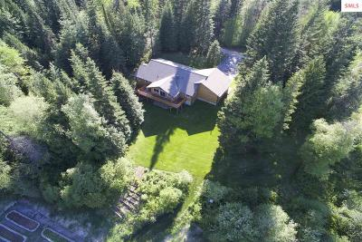 Sandpoint Single Family Home For Sale: 21 Creekfront Lane