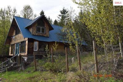 Sandpoint ID Single Family Home For Sale: $137,000