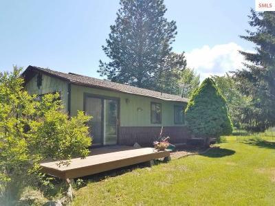 Moyie Springs Single Family Home For Sale: 30 Cedar St