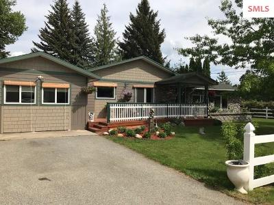 Sandpoint Single Family Home For Sale: 19 Red Clover Dr.