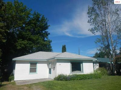 Bonner County, Boundary County, Kootenai County Single Family Home For Sale: 526 S Marion