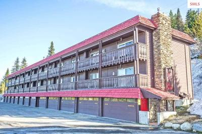 Sandpoint Condo/Townhouse For Sale: 8754 Schweitzer Mtn Rd #19