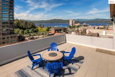 Coeur D'alene Condo/Townhouse For Sale: 609 E Sherman Avenue #602