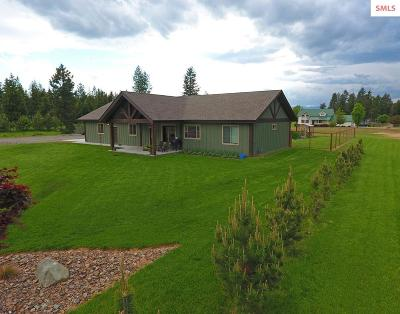 Moyie Springs Single Family Home For Sale: 156 Leo Ln
