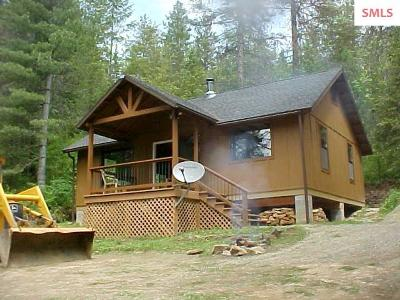 Priest River Single Family Home For Sale: 177 Sno Tika