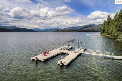 Priest Lake, Priest River Single Family Home For Sale: 520 S Shores Rd.