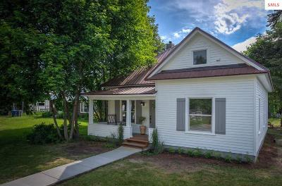 Sandpoint ID Single Family Home For Sale: $269,500