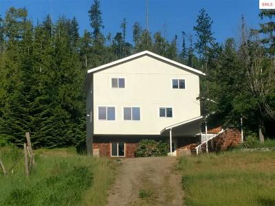 Sandpoint Single Family Home For Sale: 17689 Highway 2