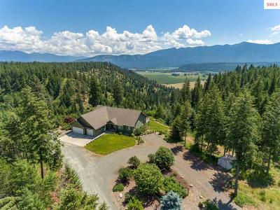 Bonners Ferry Single Family Home For Sale: 1524 Sunrise Rd