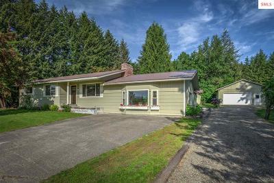 Sagle Single Family Home For Sale: 186 E Comeback Bay Ln