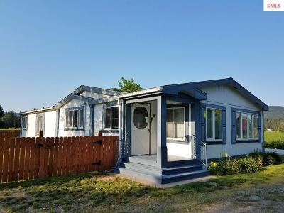 Bonners Ferry Single Family Home For Sale: 511105 Hwy 95