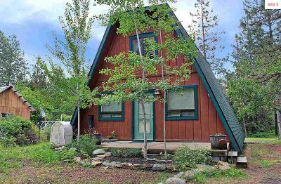Sandpoint ID Single Family Home For Sale: $235,000