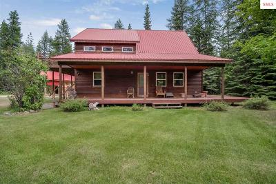 Clark Fork ID Single Family Home For Sale: $398,500