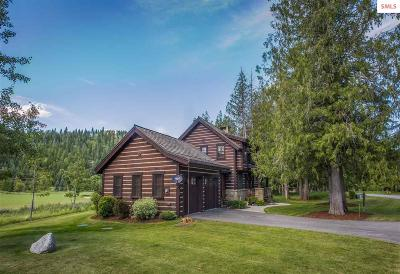 Sandpoint Single Family Home For Sale: 645 N Idaho Club Dr