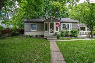 Coeur D'alene ID Single Family Home For Sale: $305,000